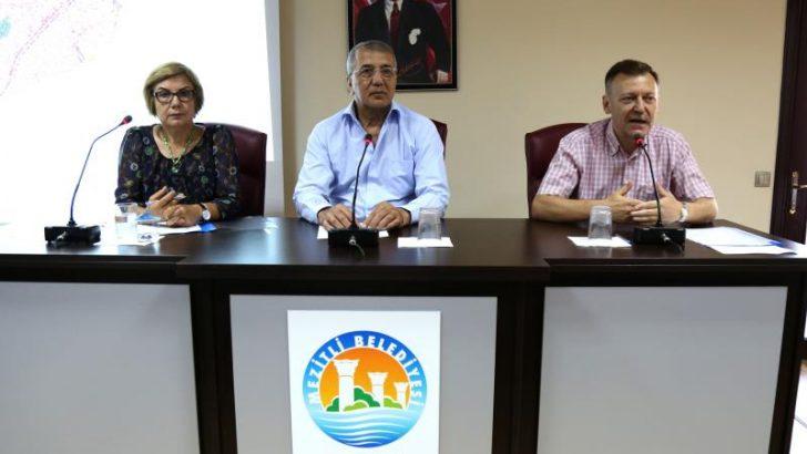 Milletvekili Atıcı'dan Mezitli Belediye Meclisi'ne Ziyaret