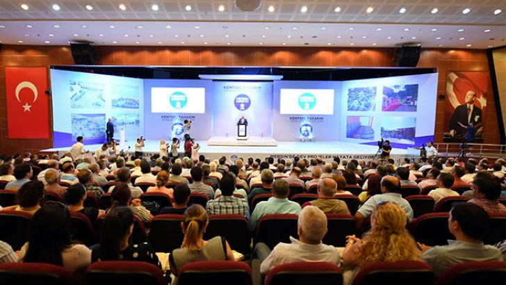 Mersin Büyükşehir Belediyesi Kentsel Tasarım ve Yenileme Projesini Tanıttı