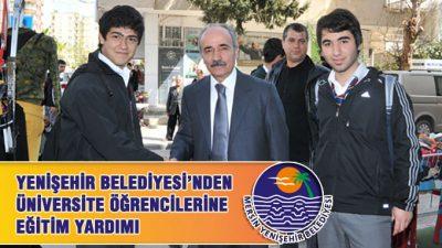 Yenişehir Belediyesi'nden Üniversite Öğrencilerine Destek