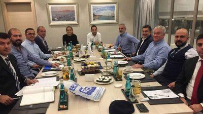Mersin Beşiktaşlılar Derneği'nde Melih Aydoğdu Güven Tazeledi