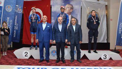 Mersin Uluslararası Bisiklet Turu'nda Ödüller Verildi