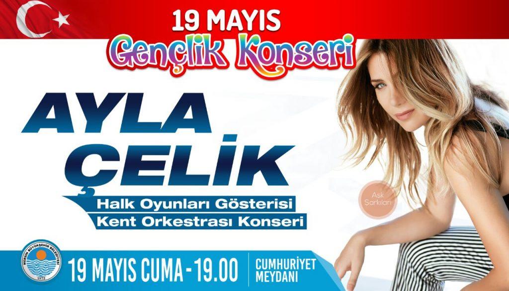 19 Mayıs Gençlik Konseri'nde Ayla Çelik Sahne Alacak