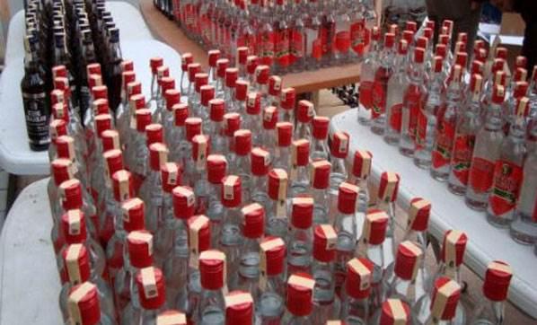 Mersin'de Kamyonette Sahte İçki Yalandı
