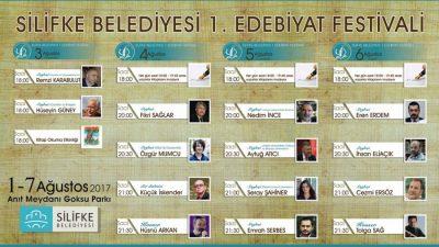 Silifke Belediyesi'nden Edebiyat Festivali