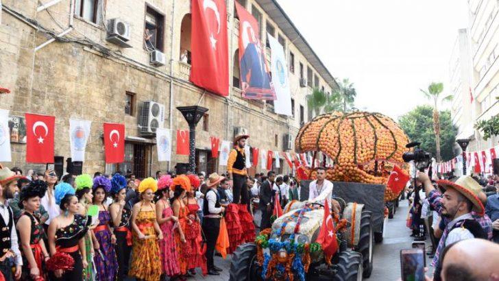 Mersin'de Narenciye Festivali Coşkusu Başladı