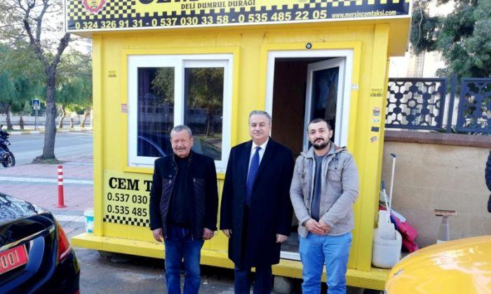 Mersin Valisi Ali İhsan Su'dan Cem Taksi'ye Ziyaret