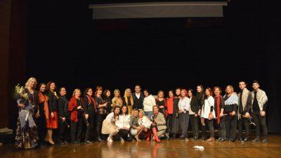 Kadına Şiddeti Tiyatro İle Protesto Ettiler