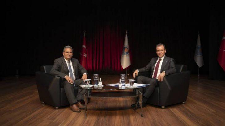 Mersin Büyükşehir Belediyesi Maske, Dezenfektan Üretecek