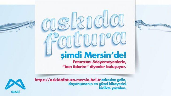 """""""Askıda Fatura"""" Dayanışması Mersin'de De Başlatıldı"""