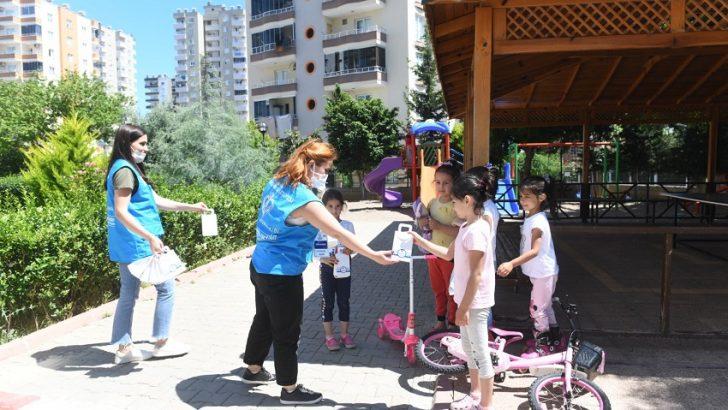 Yenişehir Belediyesi Bayramda Çocukları Şekersiz Bırakmadı