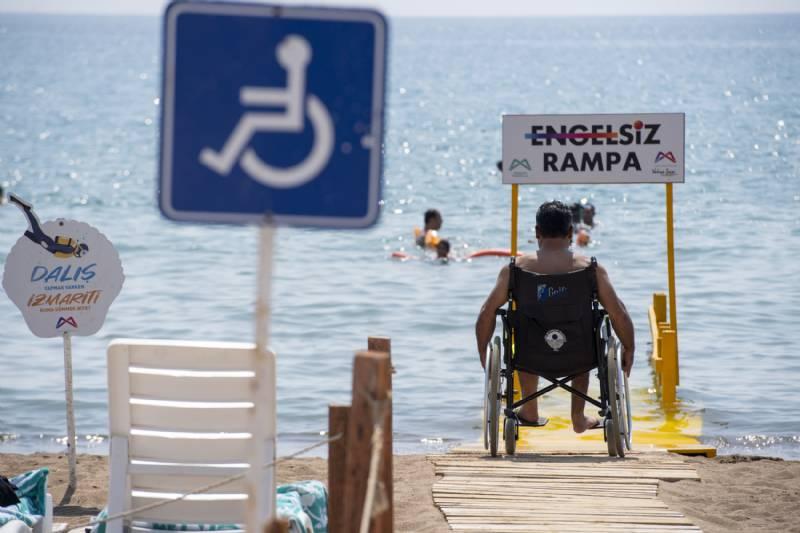 İşte Mersin'in Engelsiz Plajları…