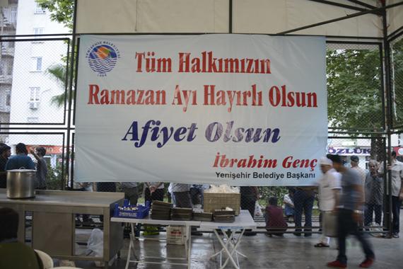 Yenişehirliler Ramazanın İlk İftarında Buluştu