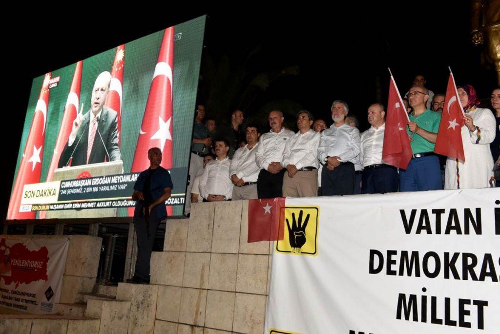 Cumhurbaşkanı Erdoğan Telekonferansla Mersinlilere Seslendi