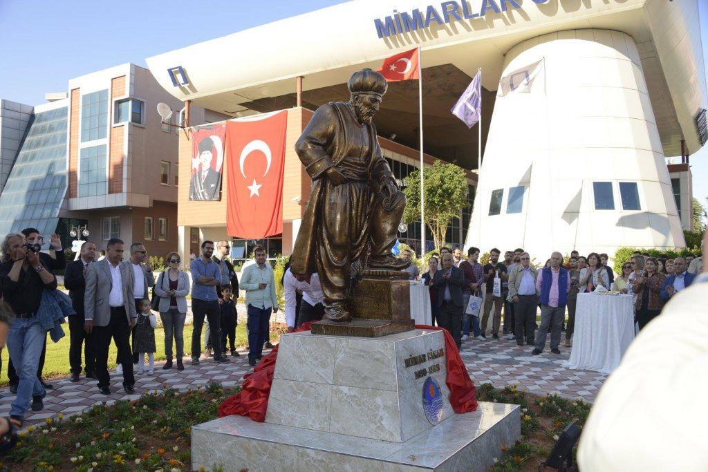 Mimar Sinan, Yenişehir'de Anıt Parkı Açılarak Anıldı