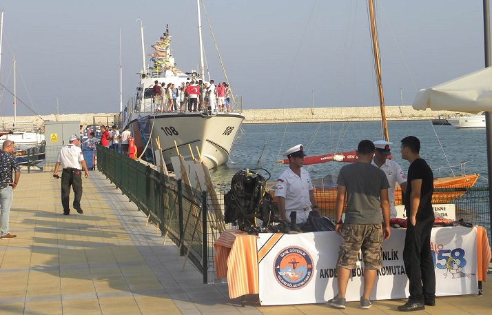 Sahil Güvenlik Botu Ziyarete Açılıyor