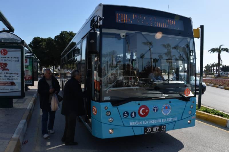 Mersin'de Toplu Taşımaya Olan İlgi Yıldan Yıla Artıyor