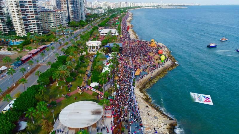 7. Uluslararası Mersin Narenciye Festivali'nde Renkli Görüntüler