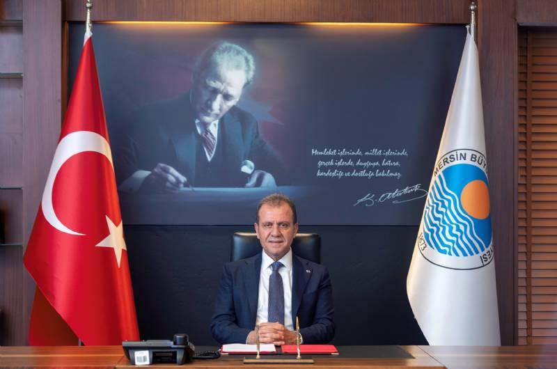 Başkan Vahap Seçer'den 3 Ocak Mersin'in Kurtuluş Günü Mesajı